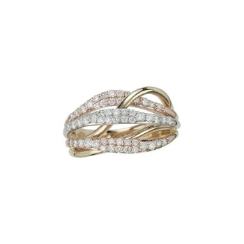 14K 0.75Ct Diamond Band
