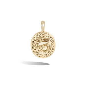 Legends Naga Pendant in 18K Gold
