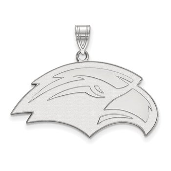 Sterling Silver University of Southern Mississippi NCAA Pendant