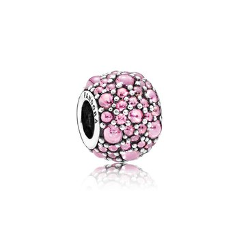 Shimmering Droplets, Pink Cz