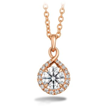 0.56 ctw. Optima Diamond Drop Pendant