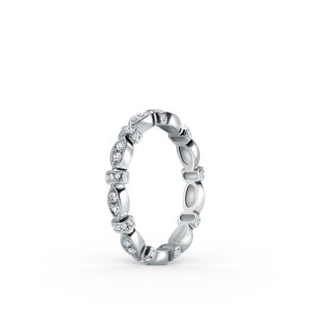 Eternity Designer Diamond Bar Wedding Band