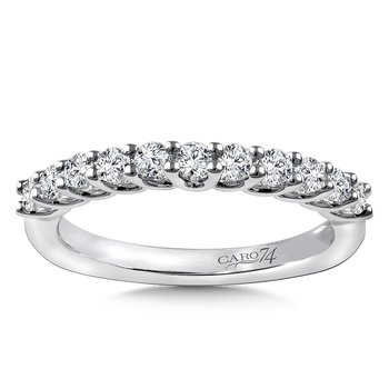 Stackable Wedding Band in 14K White Gold (.42 ct. tw.)