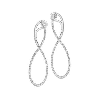 Diamond Fashion Earrings - FDE4547W