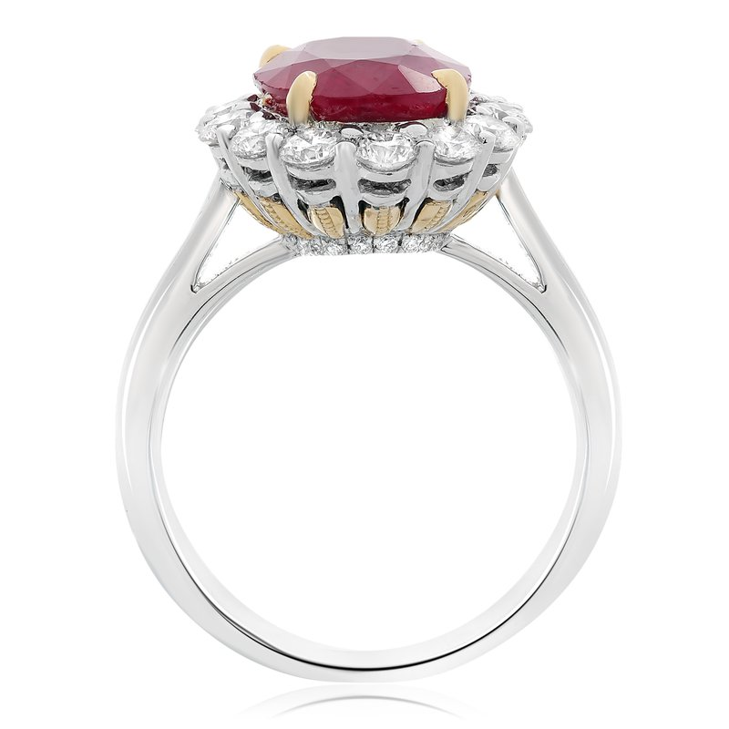Roman & Jules Natural Ruby & Diamond Ring