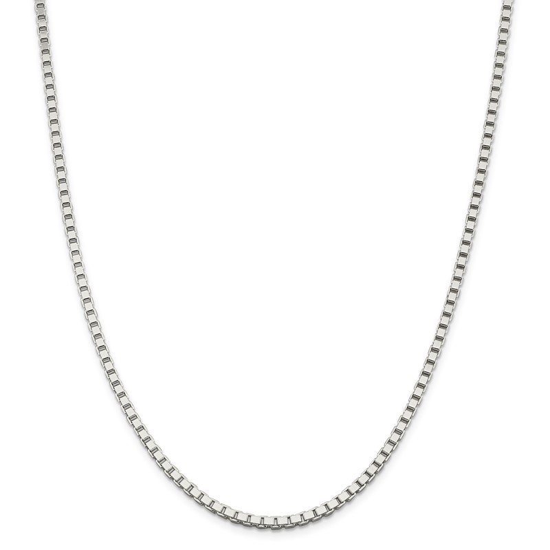 Quality Gold Sterling Silver 3mm Box Chain