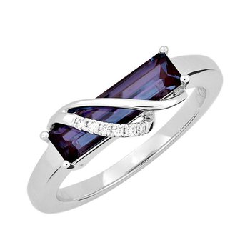 Alexandrite Ring-CR13112WAL