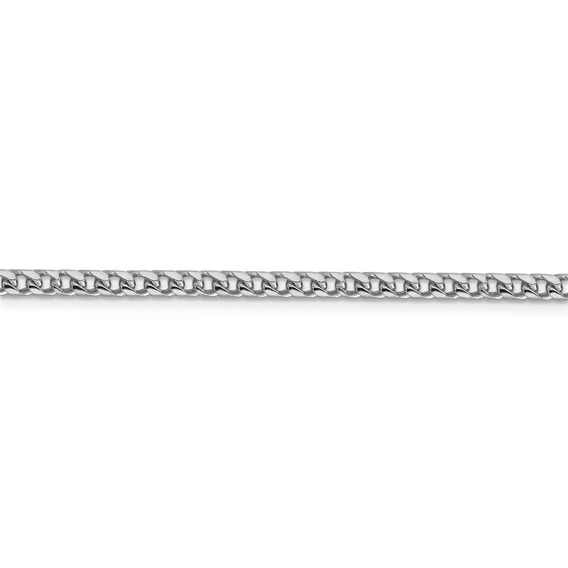J.F. Kruse Signature Collection 14k WG 3mm Franco Chain