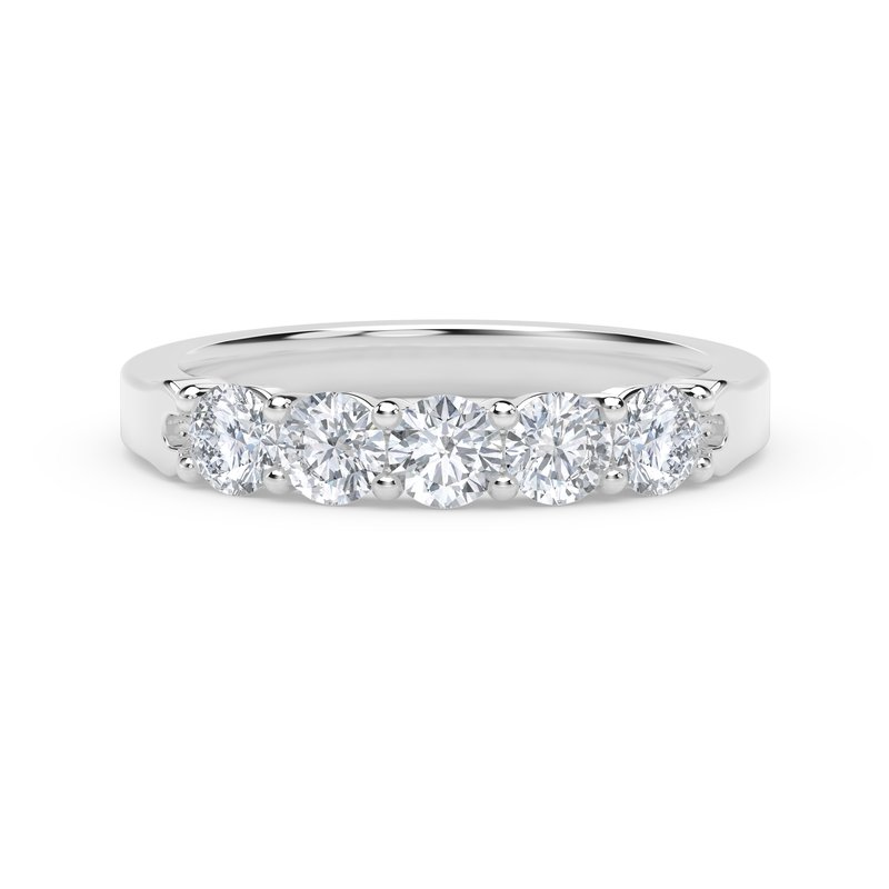 Forevermark Engagement and Commitment 5 Stone Band