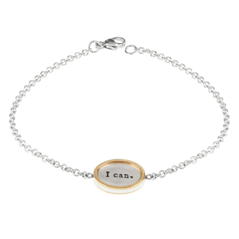 Heather B. Moore I Can I Will Charming Bracelet