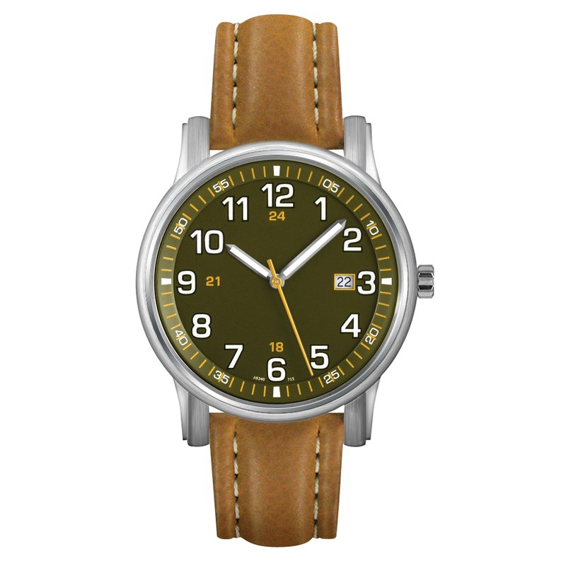 Jerrick's Timepieces a9340ws-grntan