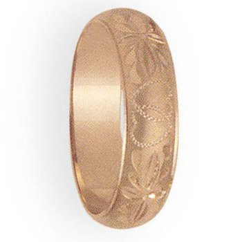 6mm 2T20 Ladies Comfort Curve Wedding Band