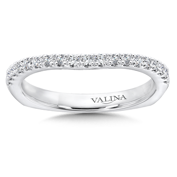 Diamond and 14K White Gold Wedding Band (0.23 ct. tw.)