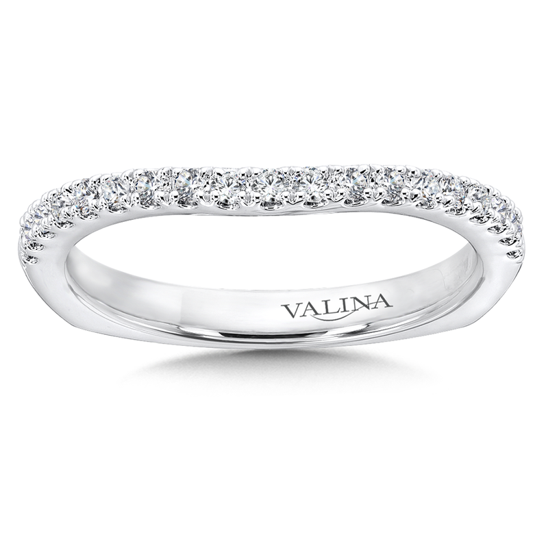 Valina Diamond and 14K White Gold Wedding Band (0.23 ct. tw.)