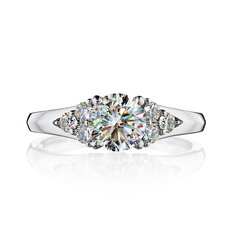 Fire Polish Diamonds Engagement Ring 1 1/3 CTTW