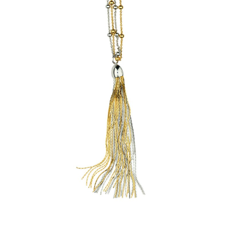 Frederic Duclos Tassel Necklace