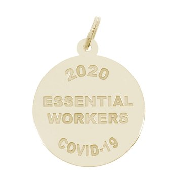 Covid-19 Essential Workers Charm