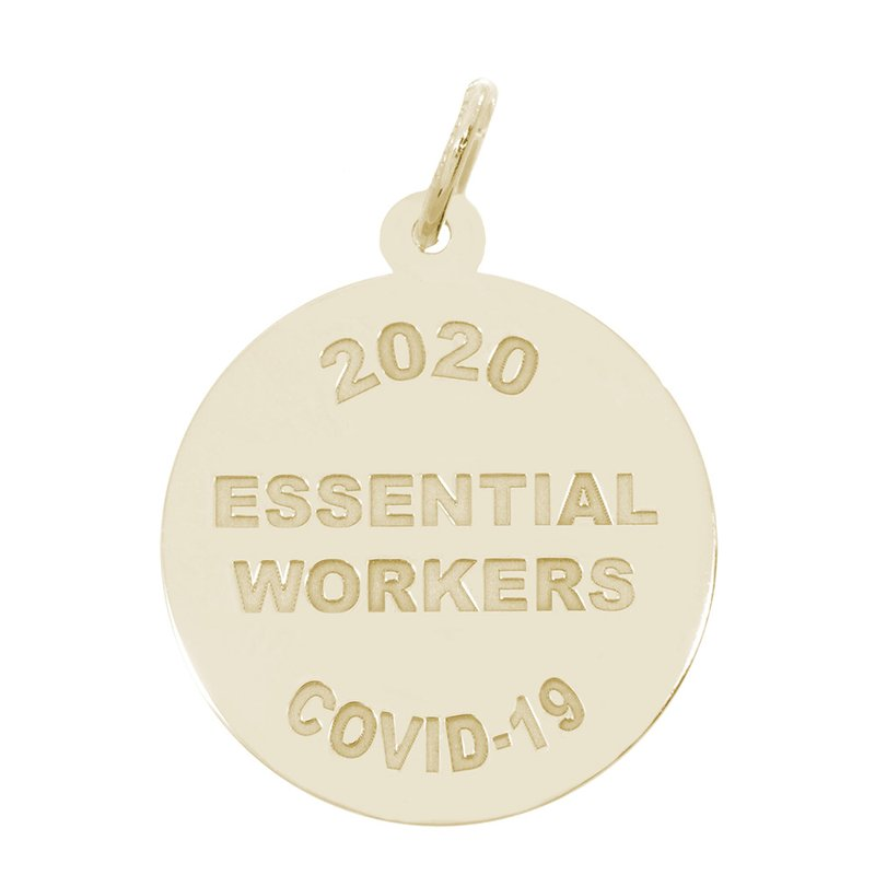 Rembrandt Charms Covid-19 Essential Workers Charm