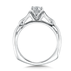 Valina Solitaire mounting .08 tw., 5/8 ct. round center.