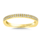 Valina Stackable Wedding Band in 14K Yellow Gold (.12 ct. tw.)