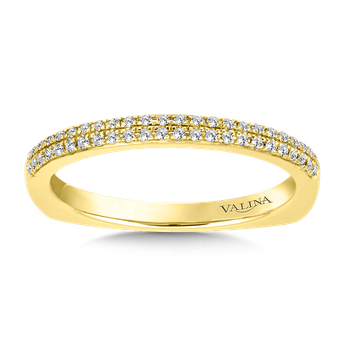 Stackable Wedding Band in 14K Yellow Gold (.12 ct. tw.)
