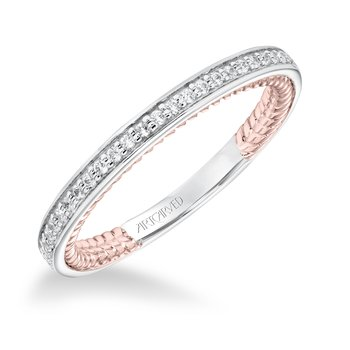 ArtCarved Winnie Wedding Band