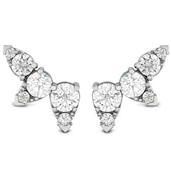 1.4 ctw. Aerial Diamond Ear Vine Earrings