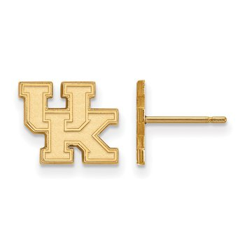 Gold University of Kentucky NCAA Earrings