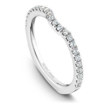 Noam Carver Wedding Band B001-01B