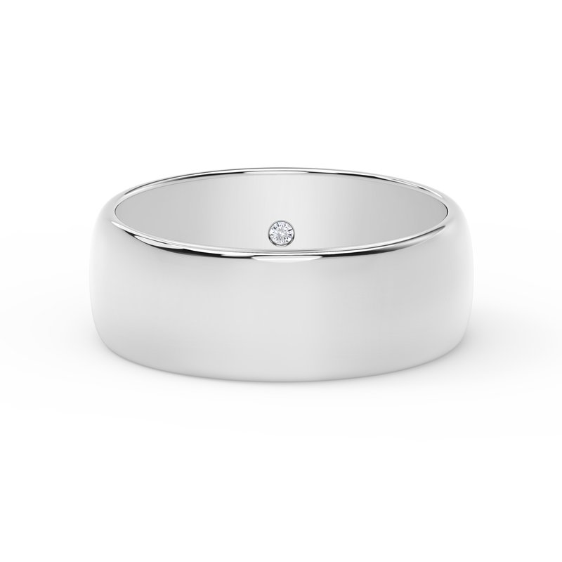 Forevermark 7mm Dome Band