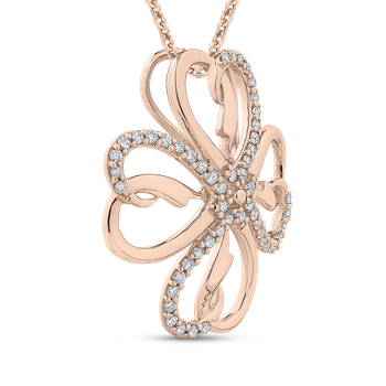 1/5 Ct Diamond Fashion Pendant with Chain