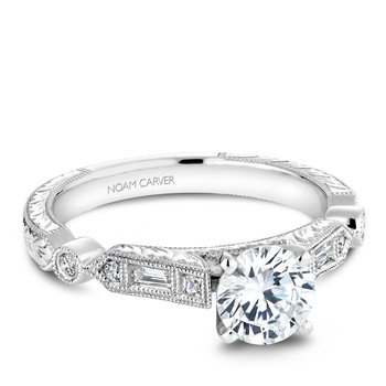Noam Carver Vintage Engagement Ring B053-01A