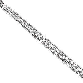 Sterling Silver Triple Chain