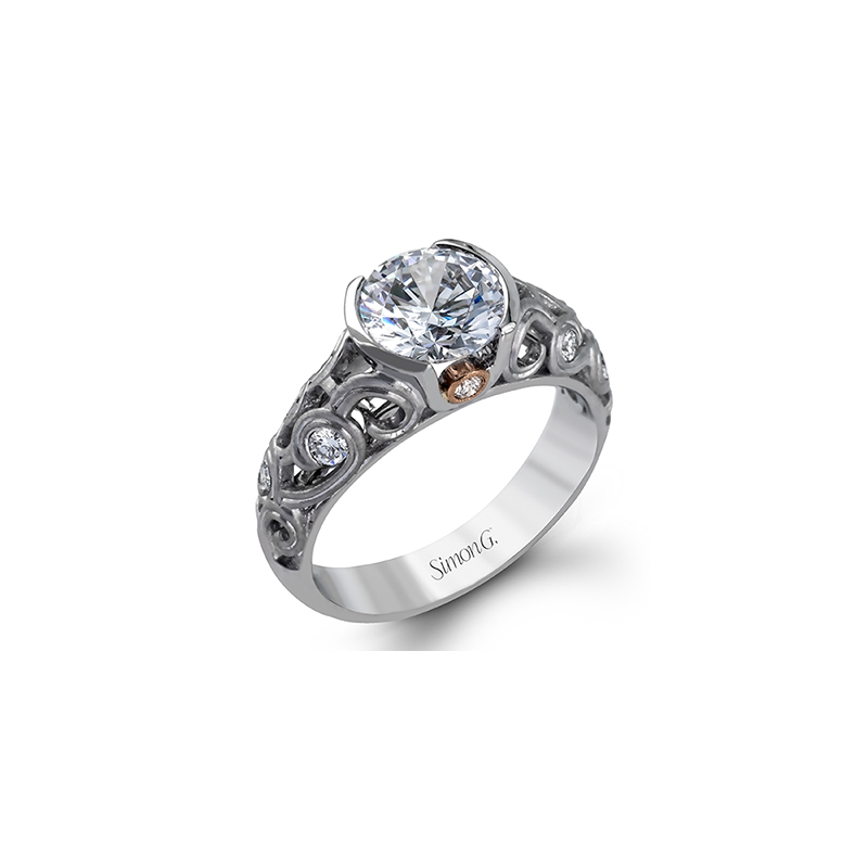 Simon G MR2421 ENGAGEMENT RING