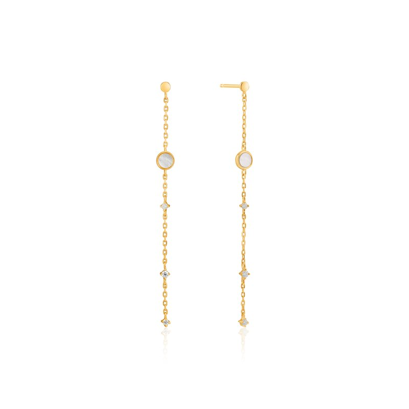Ania Haie Mother Of Pearl Drop Earrings