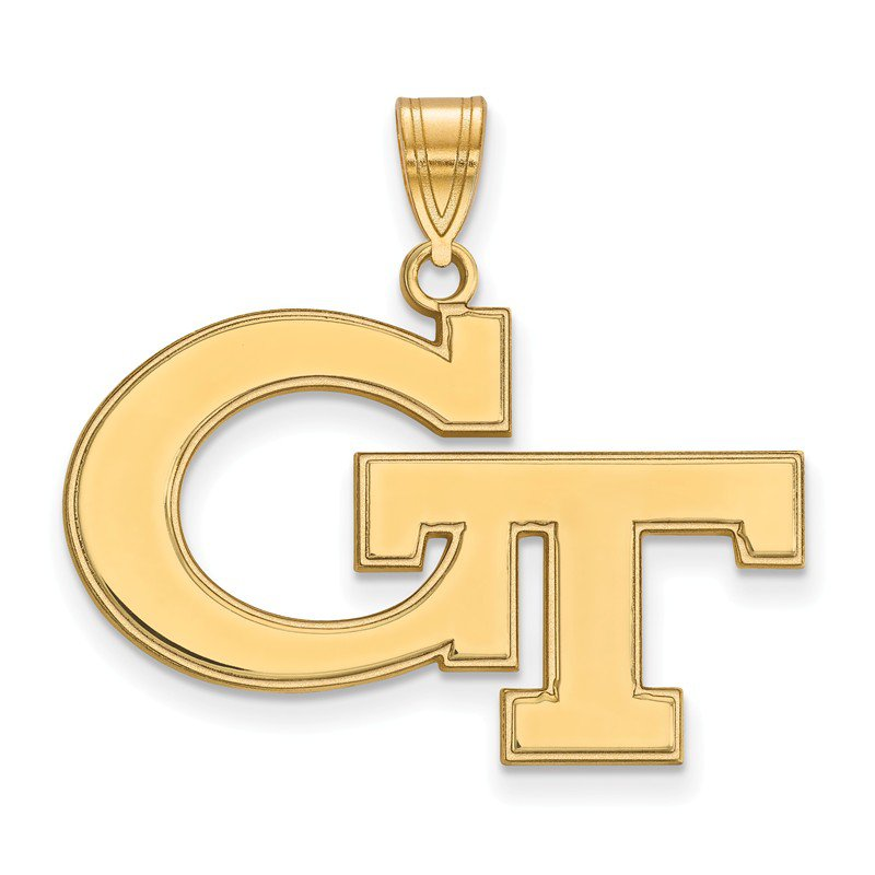 NCAA Gold Georgia Institute of Technology NCAA Pendant