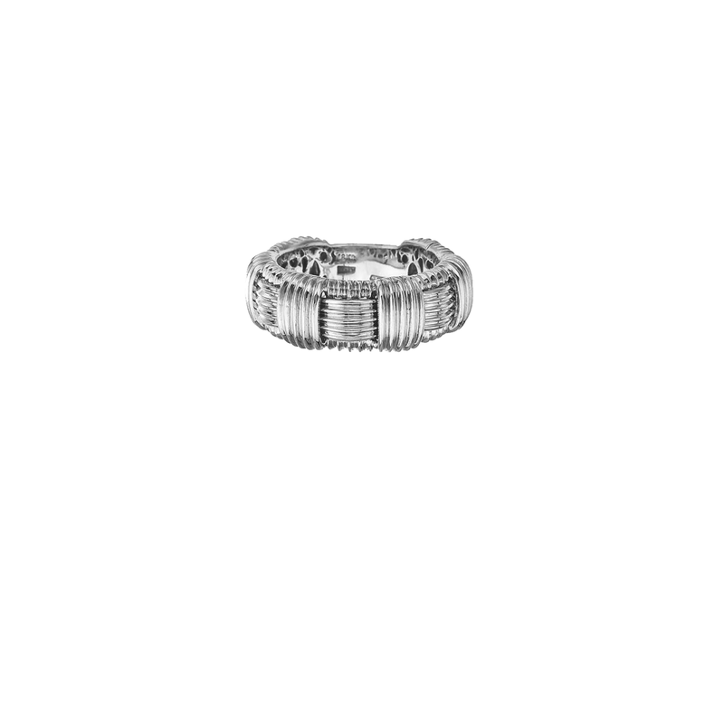 Roberto Coin 18Kt White Gold Ring