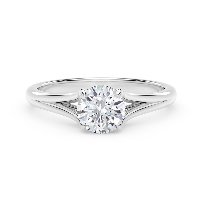 Forevermark Engagement and Commitment Forevermark Unity™ Round Engagement Ring
