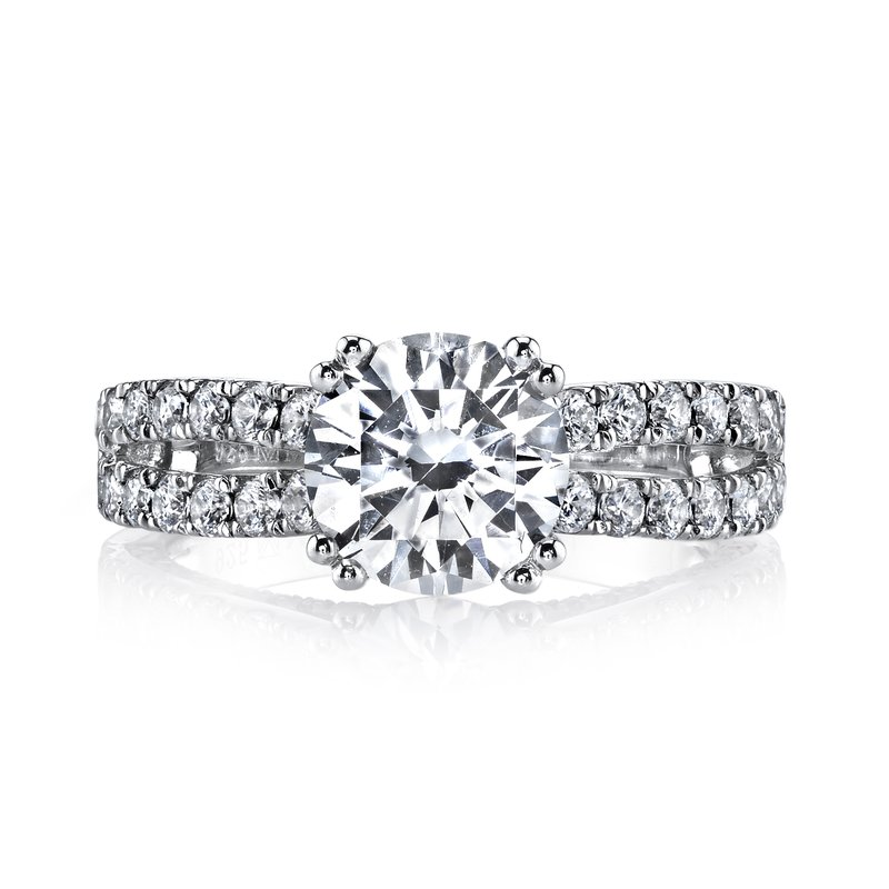 MARS Jewelry MARS 25564 Diamond Engagement Ring 0.87 Ctw.