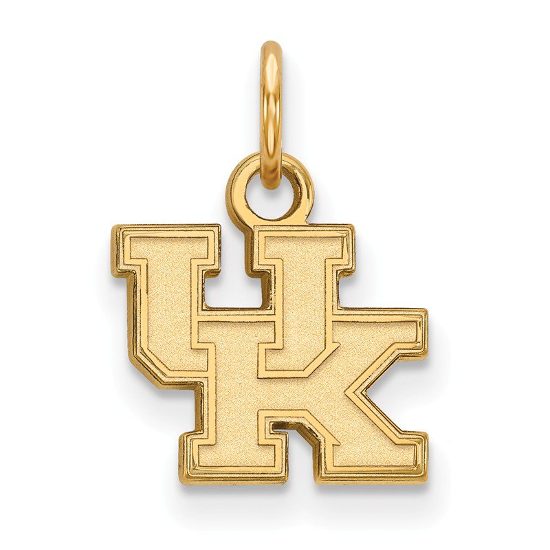 NCAA Gold-Plated Sterling Silver University of Kentucky NCAA Pendant