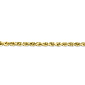 Leslie's 10K 4mm Diamond-Cut Rope Chain