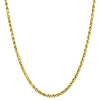 Leslie's 10k 4mm Diamond Cut Rope Chain