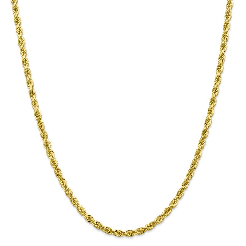 Leslie's Leslie's 10K 4mm Diamond-Cut Rope Chain