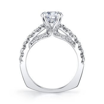 MARS 26089-R150 Engagement Ring, 0.80 Ctw.