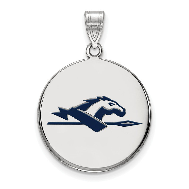 NCAA Sterling Silver Longwood University NCAA Pendant