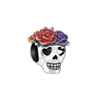 SUGAR SKULL CHARM - Multi-color Enamel