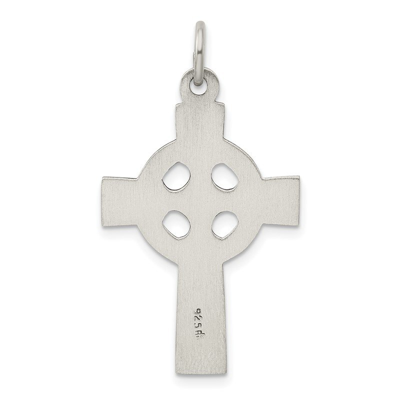 Quality Gold Sterling Silver Celtic Cross Charm