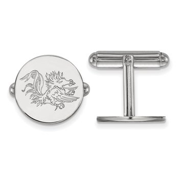 Sterling Silver University of South Carolina NCAA Cuff Links