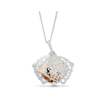 Mimi Locket Necklace Silver