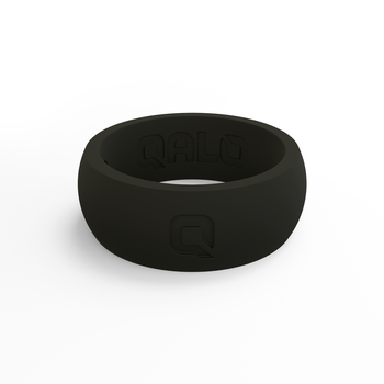 Men's Classic Black Silicone Ring